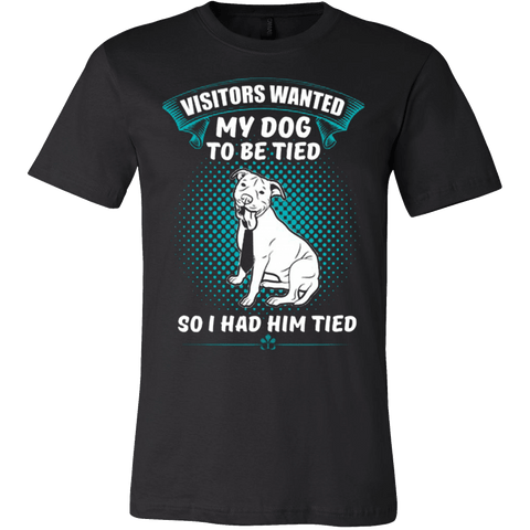 MY DOG TO BE TIED - Vietees Shop Online