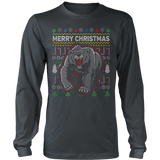 GRIZZLY BEAR WILDLIFE UGLY CHRISTMAS SWEATER - Vietees Shop Online