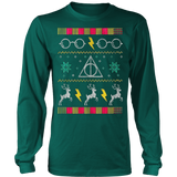 Harry Potter Glasses Ugly Christmas Sweatshirt - Vietees Shop Online