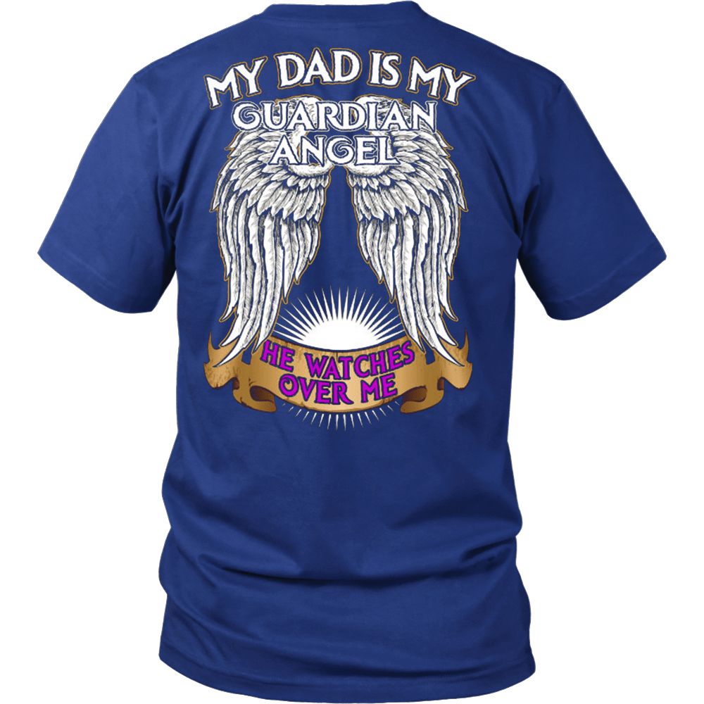 My Dad Is My Guardian Angel - Vietees Shop Online