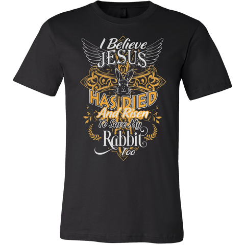 JESUS LOVES MY RABBIT T-SHIRT - Vietees Shop Online