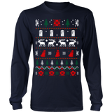 Dr who ugly christmas sweater xmas - Vietees Shop Online - 7