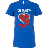 Valentines Teacher - Is Love T-shirt - Vietees Shop Online