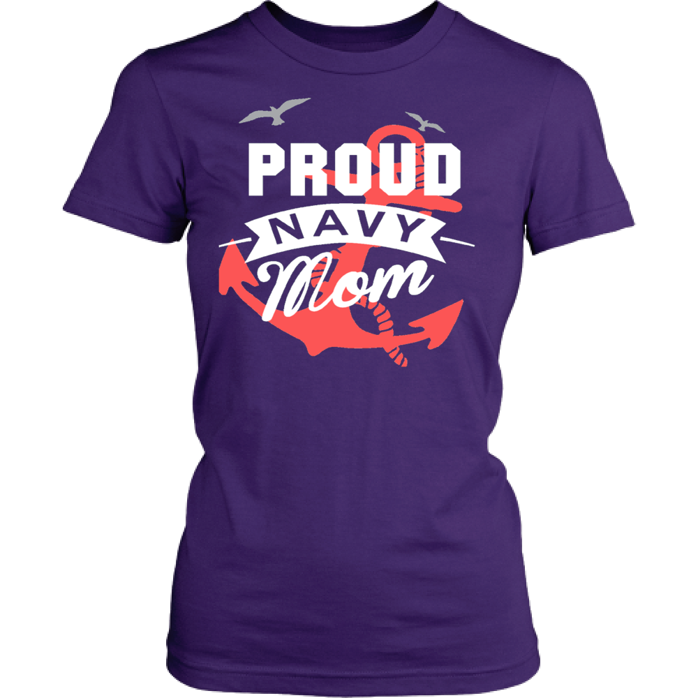 Proud Navy Mom - Vietees Shop Online