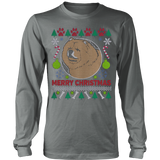 Chow Chow Dog Breed Ugly Christmas Sweater Hoodie - Vietees Shop Online - 10