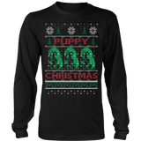 Puppy ugly christmas sweater - Vietees Shop Online