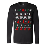Dr who ugly christmas sweater xmas - Vietees Shop Online