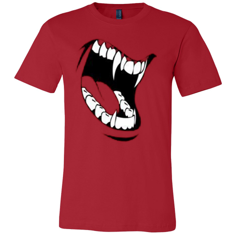 Halloween Men's Trick Or Treat Fangs T-Shirt - Vietees Shop Online