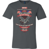 MERRY CHRISTMAS - GOD BLESS AMERICA - Vietees Shop Online