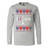 Peace and pray for paris ugly christmas sweater xmas - Vietees Shop Online - 4