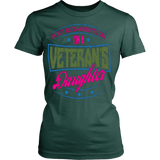I'M A VETERAN'S DAUGHTER T-SHIRT - Vietees Shop Online