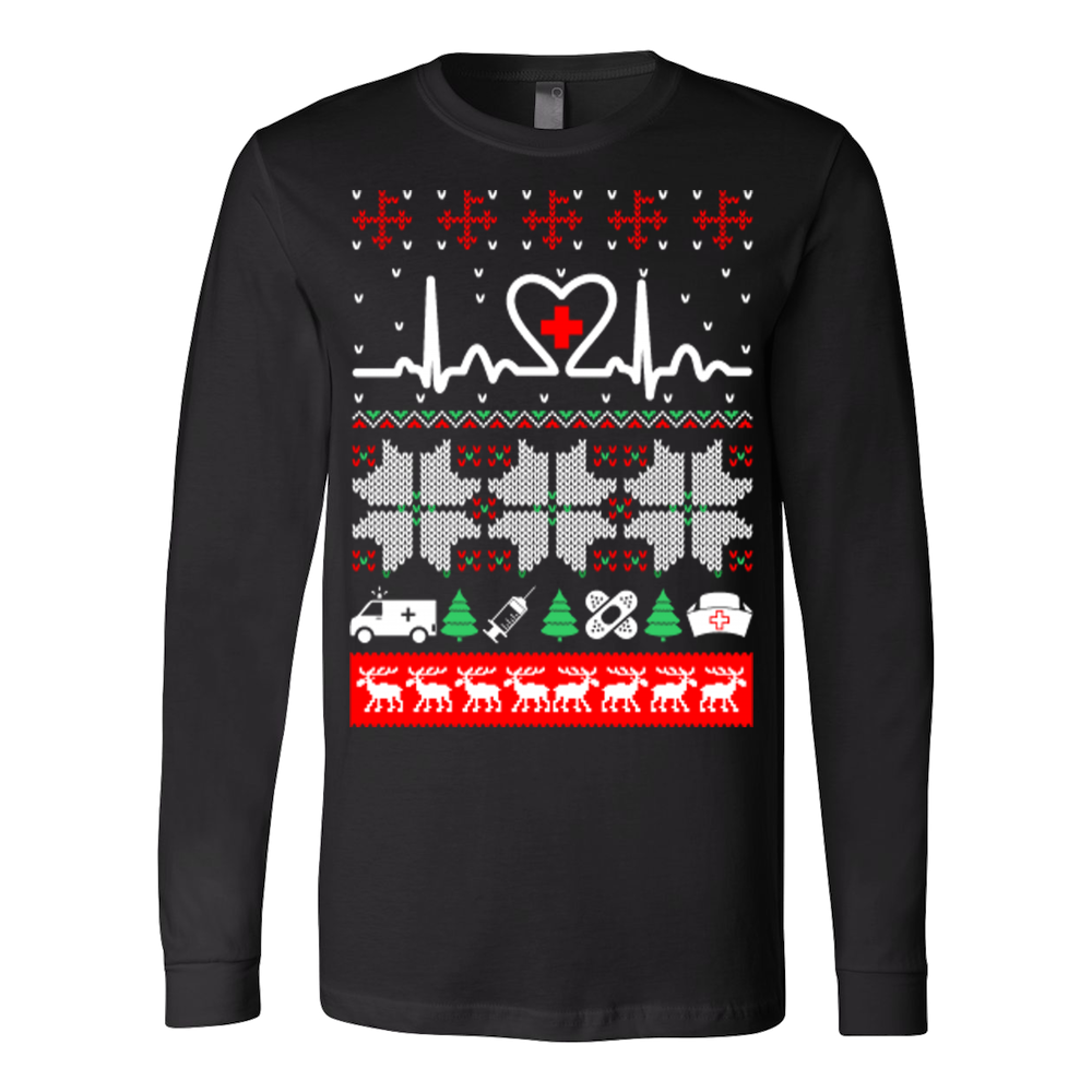 Christmas nurse cna doctor ugly sweater – Vietees Shop Online