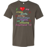 I Love My Amazing Boyfriend T-shirt - Vietees Shop Online