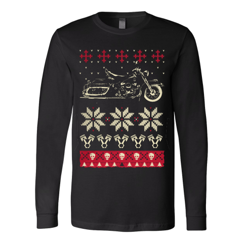Biker Merry Christmas Ugly Sweater - Vietees Shop Online - 1