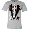 Image of Buried Alive Halloween Tuxedo Men's T-Shirt - Vietees Shop Online