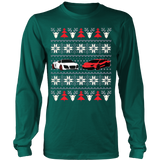 Racing Car Ugly Christmas Sweatshirt - Vietees Shop Online - 12