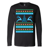 Reindeer xmas ugly christmas sweater - Vietees Shop Online