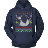 Border Collie Dog Breed Ugly Christmas Sweater Hoodie - Vietees Shop Online