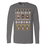 Happy Christmas ugly sweater - Vietees Shop Online - 3