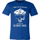 I didn't go to Harvard. I went to NS Great Lakes - Vietees Shop Online