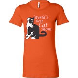 World's Best Cat Mom Tee - Vietees Shop Online