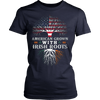 Image of AMERICAN Grown with IRISH Roots T-shirt - Vietees Shop Online