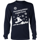 Snowboaring ugly christmas sweater - Vietees Shop Online