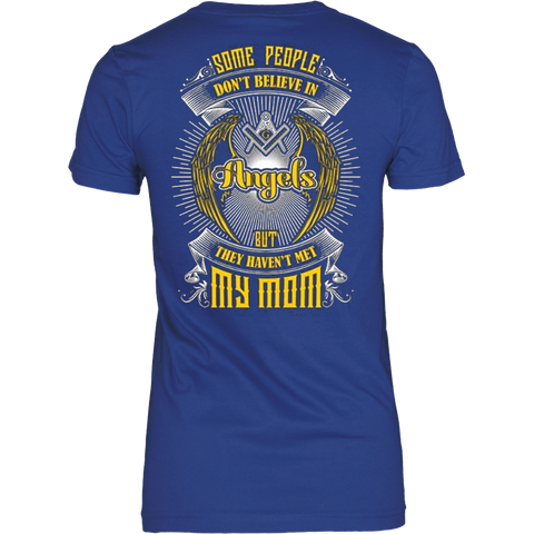My Mom is an Angles T-shirt - Vietees Shop Online