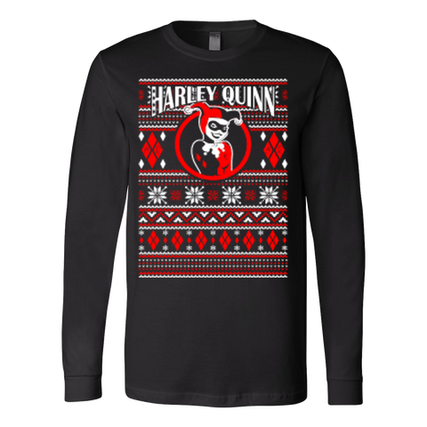 Harley Quinn Ugly Christmas Sweater Xmas - Vietees Shop Online