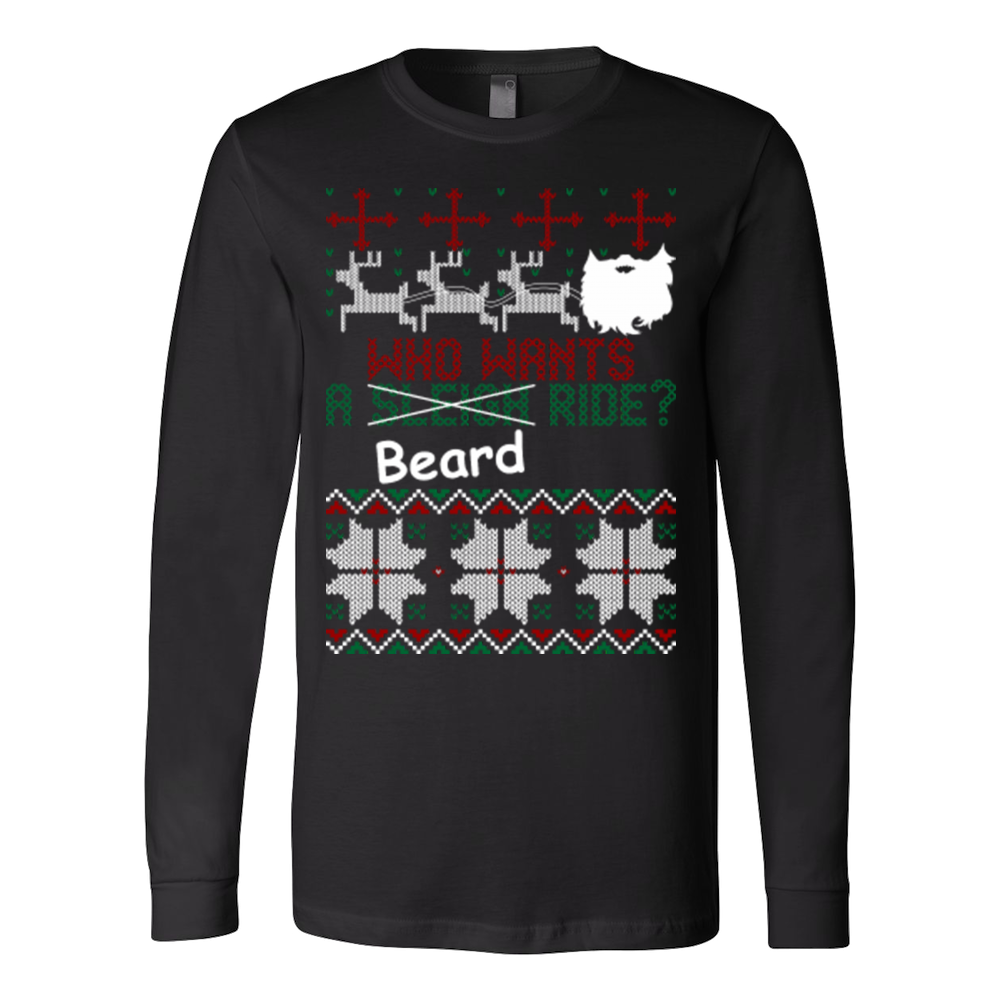 Who wants beard ride christmas biker ugly sweater - Vietees Shop Online