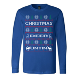 Chrismas deer hunting ugly sweater - Vietees Shop Online - 5