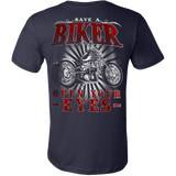Save A Biker - Open Your Eyes T-Shirt - Vietees Shop Online