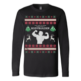 Bodybuilder Ugly Christmas Sweater - Vietees Shop Online
