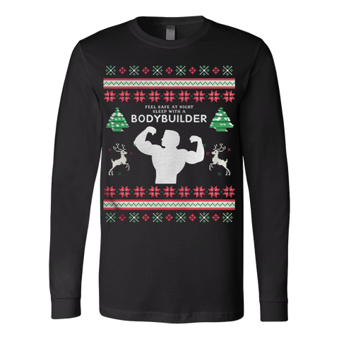 Bodybuilder Ugly Christmas Sweater - Vietees Shop Online - 1