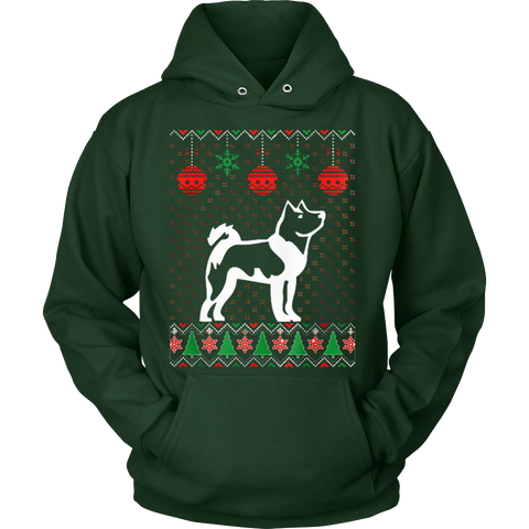 Akita Dog Ugly Christmas Sweater Xmas Hoodie - Vietees Shop Online - 1