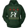 Image of Akita Dog Ugly Christmas Sweater Xmas Hoodie - Vietees Shop Online