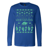 WinesGiving Ugly Christmas Sweatshirt - Vietees Shop Online