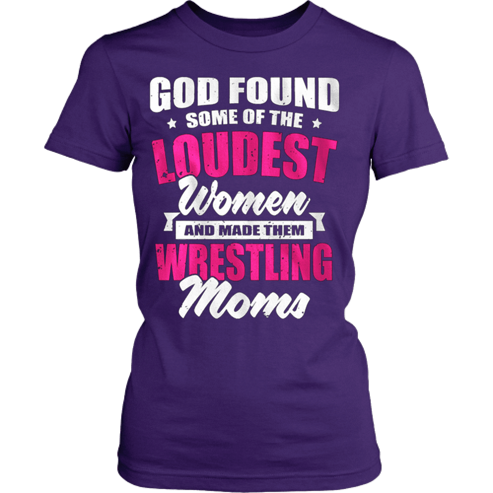 Loudest Women - Wrestling Mom - Vietees Shop Online