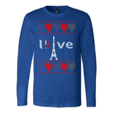 Peace and pray for paris ugly christmas sweater xmas - Vietees Shop Online - 5