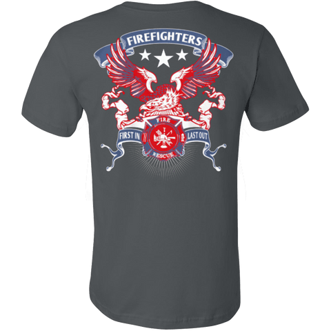 AMERICAN FIREFIGHTERS FIRE RESCUE - FIRST IN LAST OUT - Vietees Shop Online