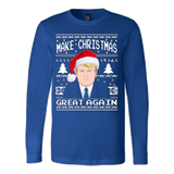 Make Christmas Great Again Ugly Sweater Donald Trump 2016 - Vietees Shop Online - 6