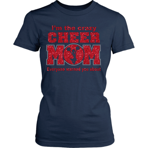 Crazy Cheer Mom Shirt - Vietees Shop Online