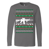Ar 15 ar15 ugly christmas sweater xmas - Vietees Shop Online - 3