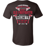 GRUMPY FIREFIGHTER SHIRT - Vietees Shop Online