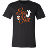 Image of Boo Y'all Ghost Monogrammed Halloween T-shirt - Vietees Shop Online