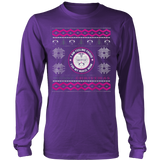 Nurses Daughter Ugly Christmas Sweater Hoodie - Vietees Shop Online - 12