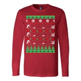 Bowlers bowling christmas ugly sweater - Vietees Shop Online - 6