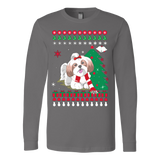 Christmas Ugly Sweater - SHIH TZU DOG - Vietees Shop Online - 3
