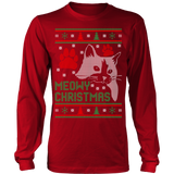 Meowy christmas cat ugly christmas sweater xmas - Vietees Shop Online