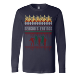 Zombie ugly christmas sweater - Vietees Shop Online - 2